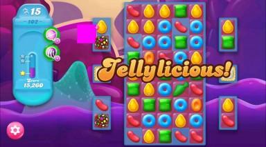 キャンディクラッシュゼリー レベル102 攻略のコツ