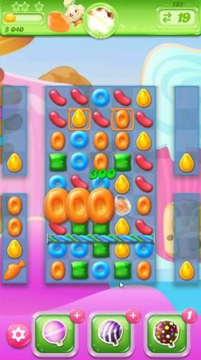 キャンディクラッシュゼリー レベル121 攻略のコツ