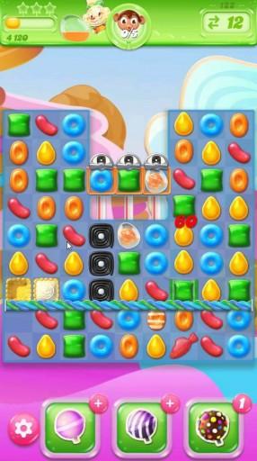 キャンディクラッシュゼリー レベル122 攻略のコツ