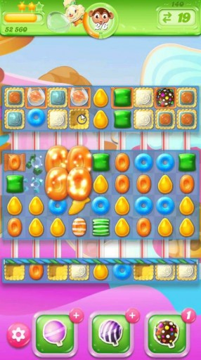キャンディクラッシュゼリー レベル140 攻略のコツ