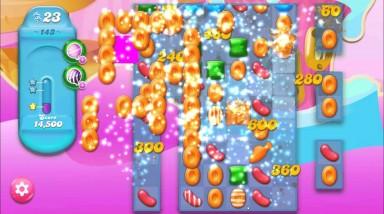 キャンディクラッシュゼリー レベル143 攻略のコツ