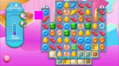 キャンディクラッシュゼリー レベル152 攻略のコツ