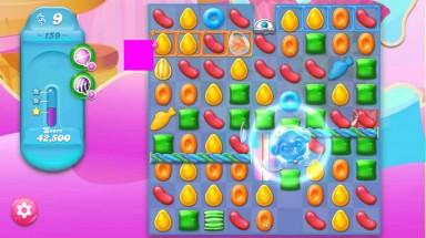キャンディクラッシュゼリー レベル159 攻略のコツ