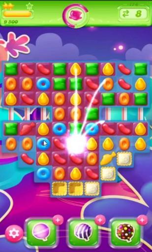 キャンディクラッシュゼリー レベル174 攻略のコツ