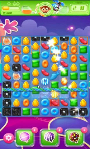 キャンディクラッシュゼリー レベル180 攻略のコツ