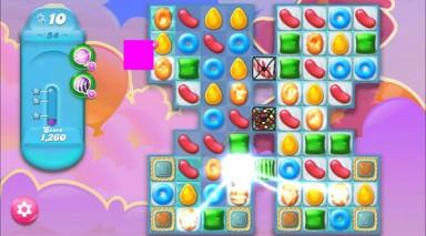 キャンディクラッシュゼリー レベル54 攻略のコツ