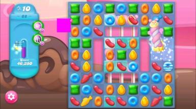キャンディクラッシュゼリー レベル68 攻略のコツ