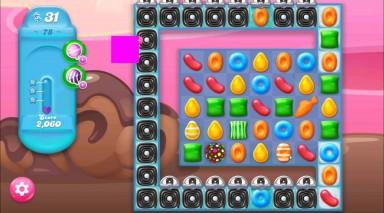 キャンディクラッシュゼリー レベル78 攻略のコツ