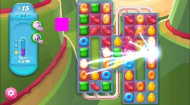 キャンディクラッシュゼリー レベル84 攻略のコツ