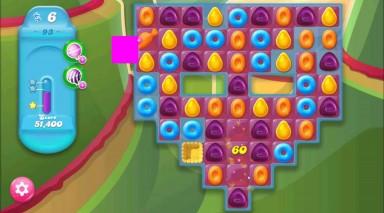 キャンディクラッシュゼリー レベル93 攻略のコツ