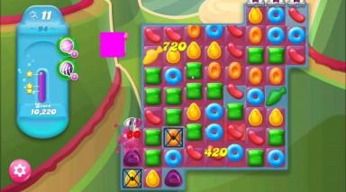 キャンディクラッシュゼリー レベル94 攻略のコツ