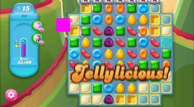 キャンディクラッシュゼリー レベル96 攻略のコツ