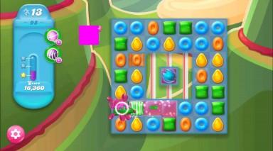 キャンディクラッシュゼリー レベル98 攻略のコツ