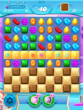 キャンディークラッシュソーダ レベル203 攻略へ クリアのコツ