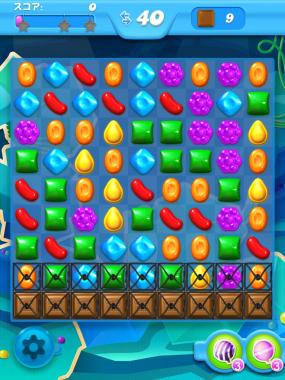 キャンディークラッシュソーダ レベル54 攻略へ クリアのコツ