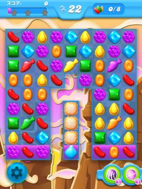 キャンディークラッシュソーダ レベル61 攻略へ クリアのコツ