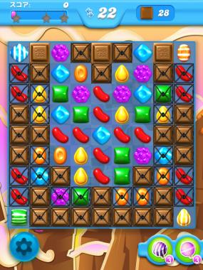 キャンディークラッシュソーダ レベル62 攻略へ クリアのコツ